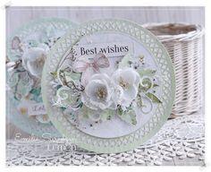 Round Romantic Cards