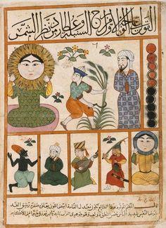 Arsgravis – Arte y simbolismo – Universidad de Barcelona | Los signos del Zodiaco en la tradición islámica
