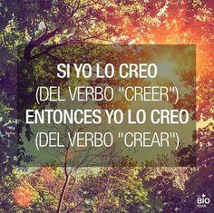 Creer para crear