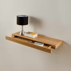 Floating Drawer Shelf With Decorative Lighting – Bloombety