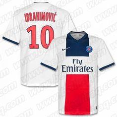Achat Maillot de foot PSG Ibrahimovic Exterieur Pas Chere deed0e758adaa