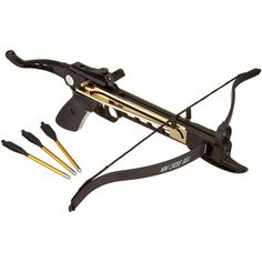 Cobra System K-8025 Self Cocking Pistol Tactical Crossbow, 80-Pound ($29) ❤ liked on Polyvore featuring weapons
