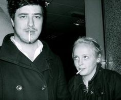 Marcus Mumford and Laura Marling