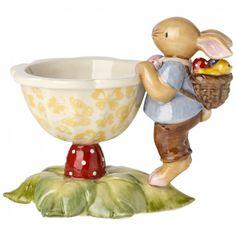 Spring Fantasy Šálek na vejce se zajíčkem cm, Villeroy & Boch Vintage Egg Cups, Vintage Easter, Happy Magic, Egg Coddler, Pie Bird, Cute Egg, Easter Garden, Toast Rack, Easter Table Settings