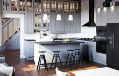 an ikea dream kitchen - and the surprise trick behind ikea catalog photography | house beautiful