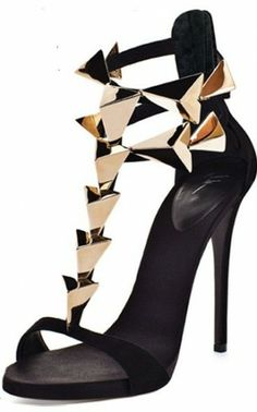 21 fantastiche immagini su Shoes decollete  black gold Zanotti ... b9e7a8df854