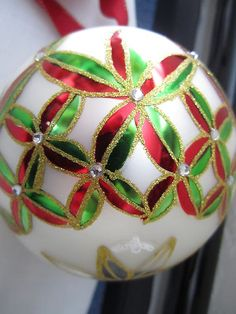 Waterford Holiday Heirlooms  Annual Dated Ball Christmas Ornament