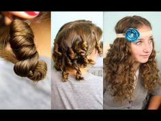 Cocoon Curls |  Easy No-Heat Curls Hairstyles {Learn this fun technique for gorgeous curls in your hair with no heat!} #CocoonCurls