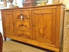 Light Walnut Directoire Enfilade @ Palladio Antiques in Memphis, TN: http://www.thepalladiogroup.com/case-pieces.html (we ship all over the US)
