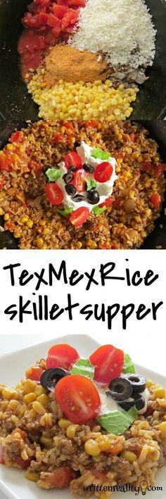 Tex Mex Rice Skillet