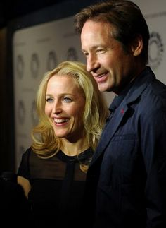 Former 'X-files; co-stars Gillian Anderson and David Duchovny reunited to take part in The Truth Is Here: David Duchovny And Gillian Anderson On 'The X-Files' at The Paley Center for Media on Oct. 12 in New York City.