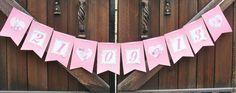 """Купить Гирлянда свадебная """"Шебби"""" - розовый, гирлянда, растяжка, растяжки, праздничная гирлянда, свадебная гирлянда"""
