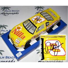Dale #Earnhardt Jr. Autographed Nilla Wafers #3 (Winners Circle) 1/24 #Diecast Car.  #EarnhardtMemorabilia