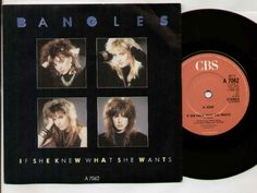 "Single ""If She Knew What She Wants"" 1986 (UK)"
