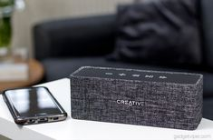 Creative Nuno Portable Bluetooth speaker has a fabric surface to complement the home or office. Read our hands on review of the Nuno Bluetooth speaker.