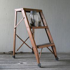 Vintage Copper Step Ladder