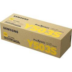 Samsung CLT-Y503S Original Toner Cartridge - #CLT-Y503S/XAA
