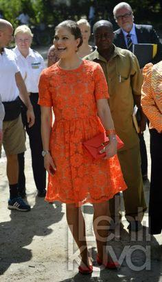 21 MARCH 2014  Crown Princess Victoria in Tanzania(2) Crown Princess Victoria continues her visit to Tanzania