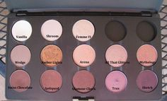 Popular MAC eyeshadow colors