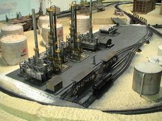 The Ultimate Guide in Toy Train Collections N Scale Model Trains, Model Train Layouts, Scale Models, N Scale Layouts, Trains For Sale, Oil Refinery, Train Engines, Classic Toys, Old Antiques