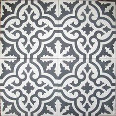 Cement Tile Shop - Encaustic Cement Tile: In Stock Cement Tile Design Blog, Deco Design, Tile Design, Tile Patterns, Textures Patterns, Kitchen Tiles, Kitchen Decor, Aga Kitchen, Encaustic Tile