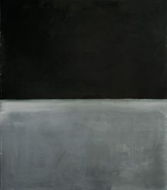 Mark Rothko, Untitled, 1969 Rothko's last work before committing suicide.