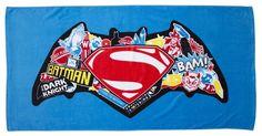 Shop online for Children's Batman Vs Superman Clash Dc Comics Character themed Velour Beach Bath Towels. Buy from Kids Mega Mart for Australia Wide Delivery! Online Shopping Australia, Beach Bath, Dc Comics Characters, Batman Vs Superman, Comic Character, Bath Towels, Boys, Baby Boys, Children