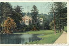 The caption on this 1936 postcard is The Infirmary, St. Paul's School Concord, NH.  Care to guess what we call this building today?