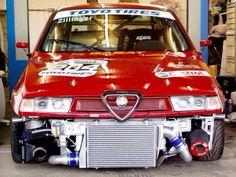 bikesandcars:  Alfa 155 V6 TI