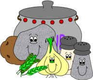 Stone Soup story/poem characters - colour or colour-in