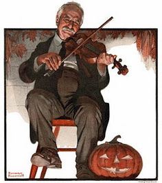 Norman Rockwell's Birthday: Saturday Evening Post Halloween Covers!