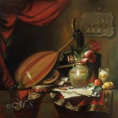 Festival of Opet. Available at Galerie Gabrie.  30×30 inches, Oil on Linen © Margret E. Short, OPA, AWAM