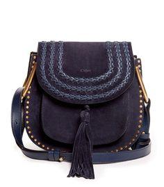 Chloe Navy Small 'Hudson' Bag