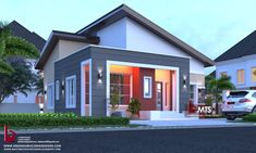 #Architecture #Nigerianbuildingdesigns #MastersTouchStudios #Homes #Bungalow #House #Nigeria #Beautiful #Design #Exterior #Modern #HouseDesign #HomeDecor #HouseStyles #HouseExterior #pinterest #love #decor #styles              2 Bedroom bungalow design      Minimum size of land is 50ft by 50ft.     Contact +2348032582385, +2348174058017 (Calls and Whatsapp) E mail: Masterstouchstudios1@gmail.com 2 Bedroom House Design, 2 Bedroom House Plans, My House Plans, Bungalow House Design, Small House Design, Bungalow Designs, Architectural House Plans, Building Design, Home Projects