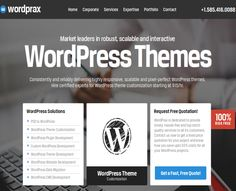 """Check out this @Behance project: """"Wordprax - Outsource Wordpress Development Company"""" https://www.behance.net/gallery/53567883/Wordprax-Outsource-Wordpress-Development-Company"""