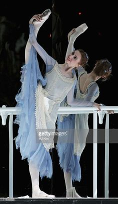 Member of the Moscow Bolshoi Theater Cinderella Ballet, Svetlana Zakharova, performs in the role of Cindarella at the Royal Opera House in Covent Garden on August 7, 2006 in London, England.
