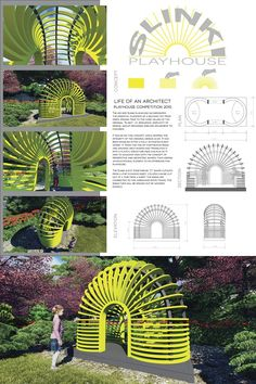 The Finalists – 2015 Life of an Architect Playhouse Design Competition Concept Board Architecture, Facade Architecture, Playground Design, Outdoor Playground, Carnival Photo Booths, Indoor Attractions, Public Space Design, Public Spaces, Urban Design Concept