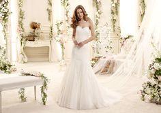 #Colet #2015Collection #weddingdress #nicolespose ► http://www.nicolespose.it/it/abito-da-sposa-Colet-Essence-COAB15319IV-2015