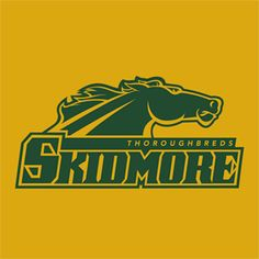 Fitting logo for a school where Equestrian is the best-known sport in a town known for a summer schedule of horse racing!