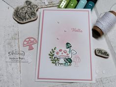 Happy Mail, Snail Mail, Catalogue, Stampin Up Cards, Mini, Poster, Paper Crafts, Kisses, Bugs