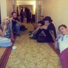 Harry and Lou earlier today. Mexico