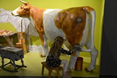 Kam s dětmi v Praze: Národní zemědělské muzem – Už tam budem? Giraffe, Cow, Animals, Felt Giraffe, Animales, Animaux, Giraffes, Cattle, Animal