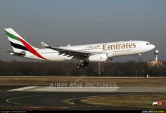 Emirates Airlines Airbus A330-200 at Budapest - Ferihegy   Photo ID 495911   Airplane-Pictures.net
