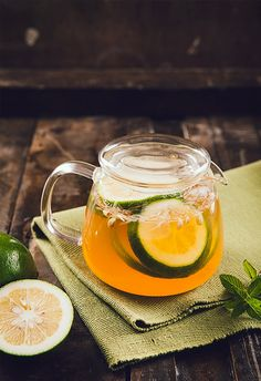Lime Mint Ice Tea