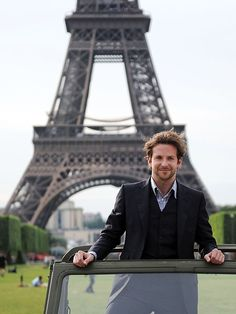 Bradley Cooper in Paris. www.girlsguidetoparis.com/subscribe-to-the-girls-guide-magazine/