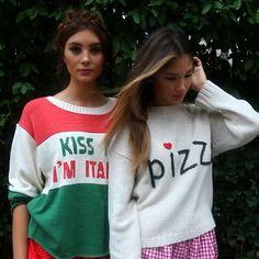 Kiss kiss kiss me... I'm Italian!  Just a play day in Little Italy with our #wildfox bellas @kristynaschickova & @jocechewbacca  by @jimmysommers @ryanAparks @brushmedia @danielagysler @staceyperdek @wearepucker