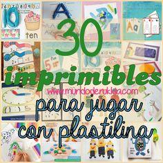 Playdough Activities, Printable Activities For Kids, Montessori Activities, Infant Activities, Speech Language Therapy, Speech And Language, Art For Kids, Crafts For Kids, School Items