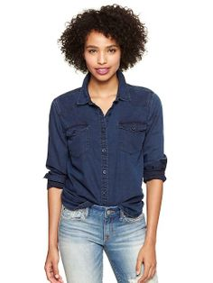 Gap | 1969 western denim shirt