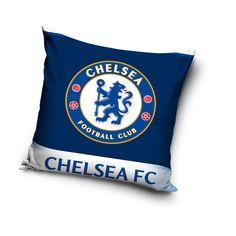 Modrý vankúš pre deti s FC Chelsea