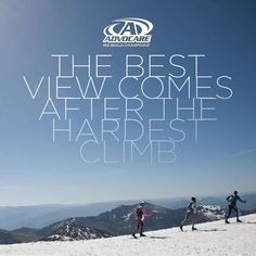 THE BEST VIEW....comes after the hardest climb! So very true! One step at a time. #success #motivation #health #fitness #driven #quotes #a3dlife (http://ift.tt/2kvIZxy)